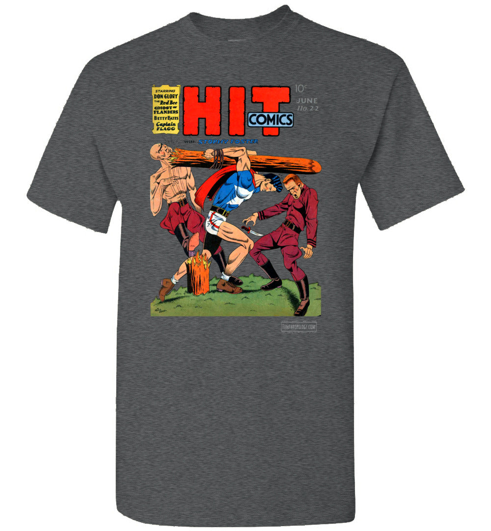 Hit Comics No.22 T-Shirt (Unisex, Dark Colors)