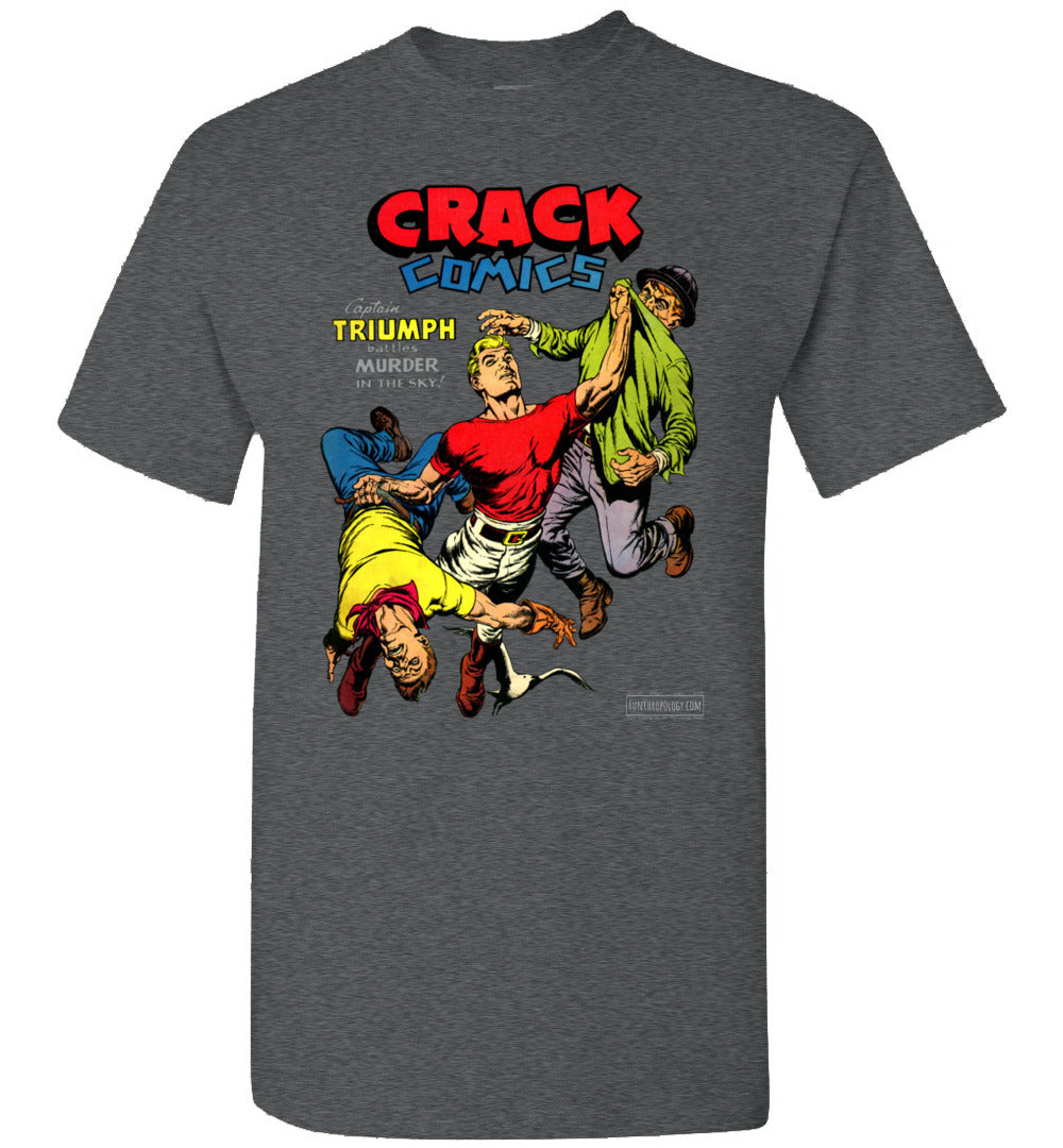 Crack Comics No.48 T-Shirt (Unisex, Dark Colors)