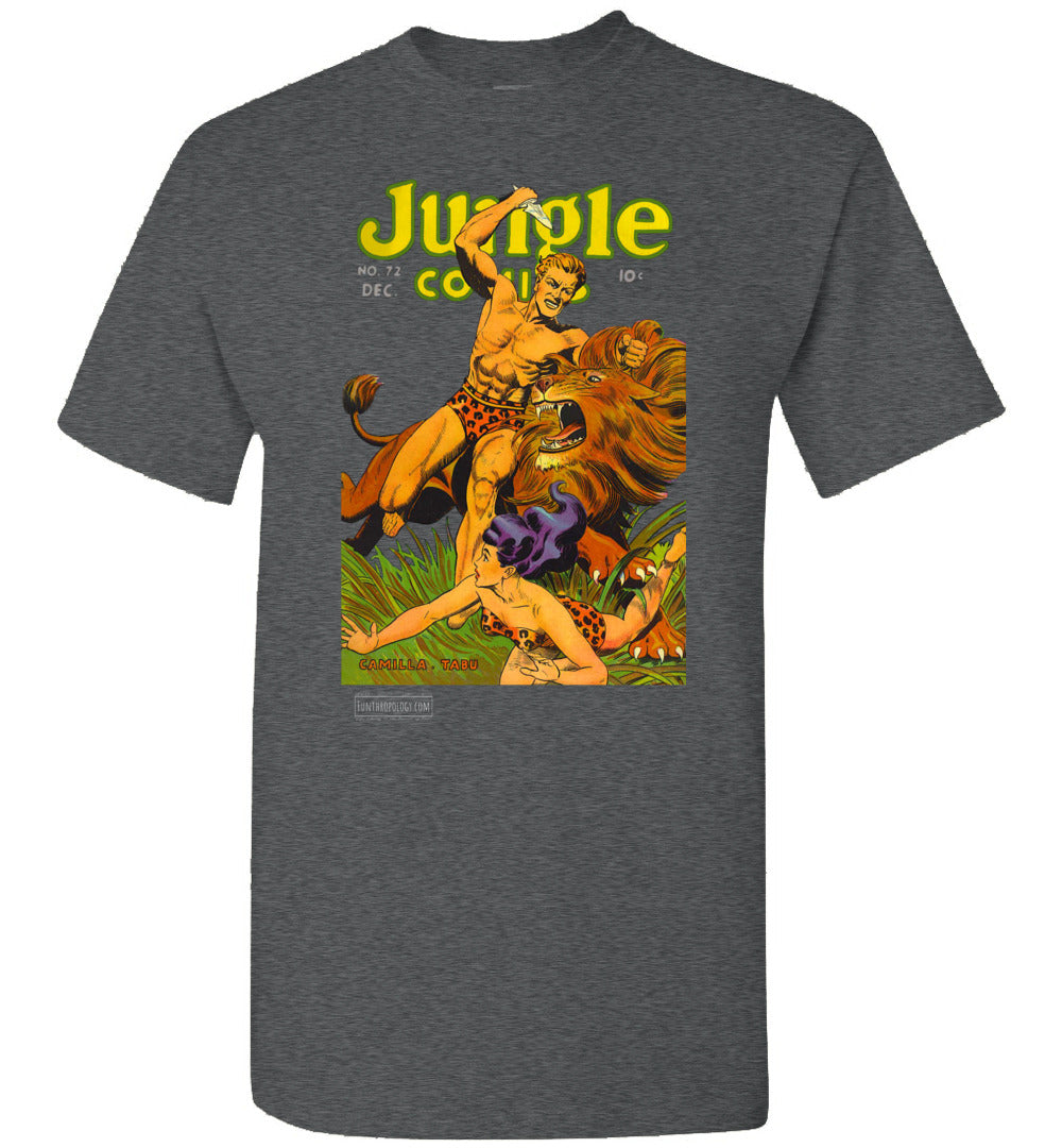 Jungle Comics No.72 T-Shirt (Unisex, Dark Colors)