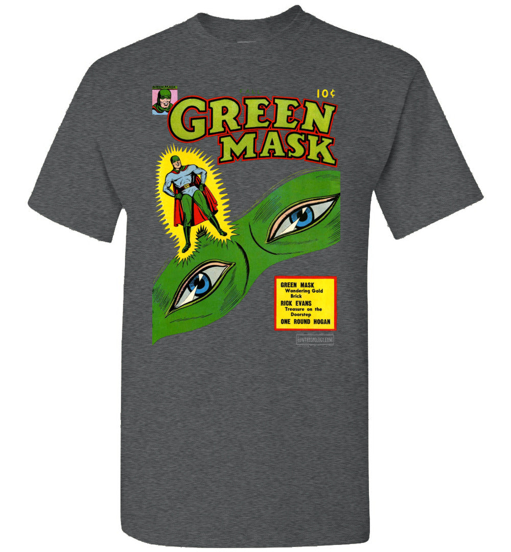 The Green Mask No.14 T-Shirt (Unisex, Dark Colors)