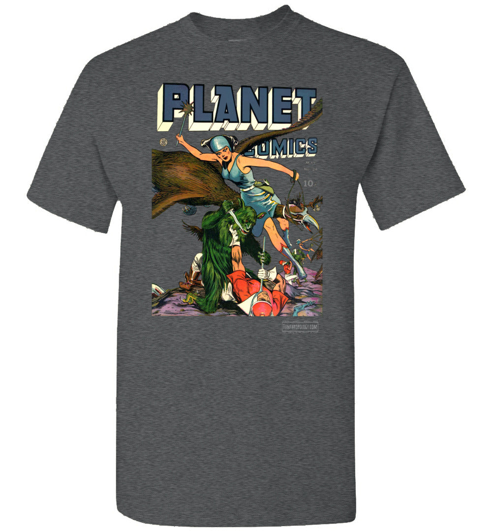Planet Comics No.24 T-Shirt (Unisex, Dark Colors)