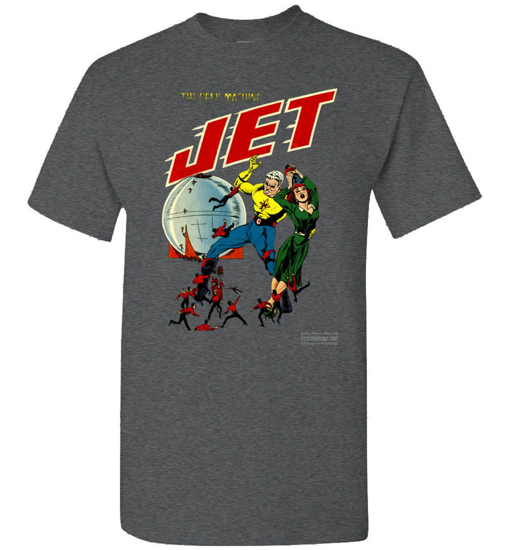Jet Powers No.3 T-Shirt (Unisex, Dark Colors)