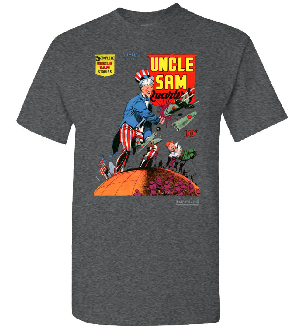 Uncle Sam Quarterly No.3 T-Shirt (Youth, Dark Colors)