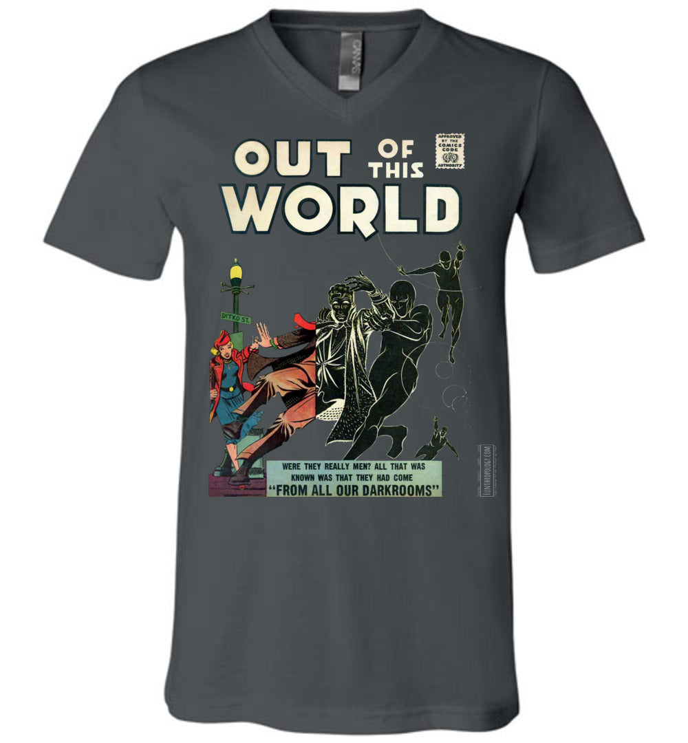 Out Of This World No.4 V-Neck (Unisex, Dark Colors)