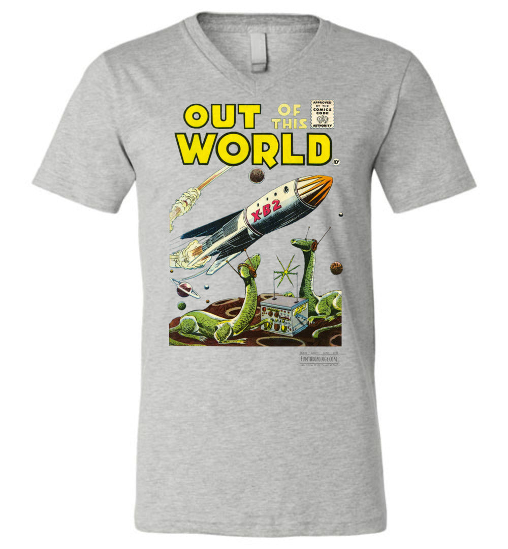 Out Of This World No.1 V-Neck (Unisex, Light Colors)