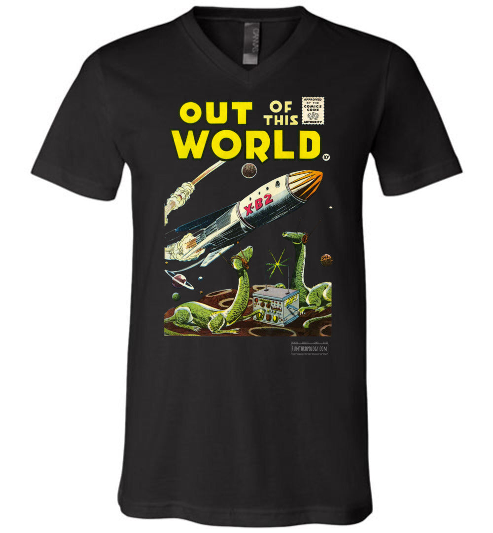 Out Of This World No.1 V-Neck (Unisex, Dark Colors)
