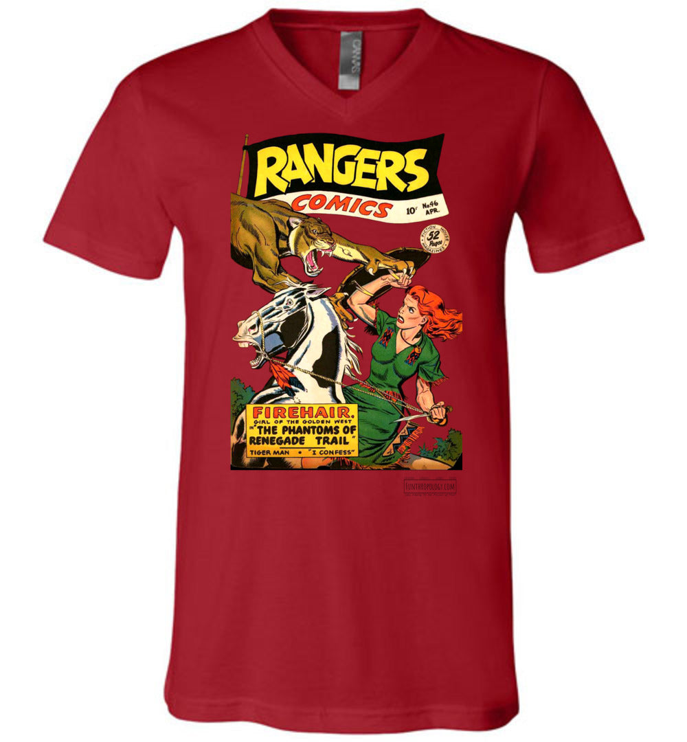 Rangers Comics No.46 V-Neck (Unisex, Light Colors)