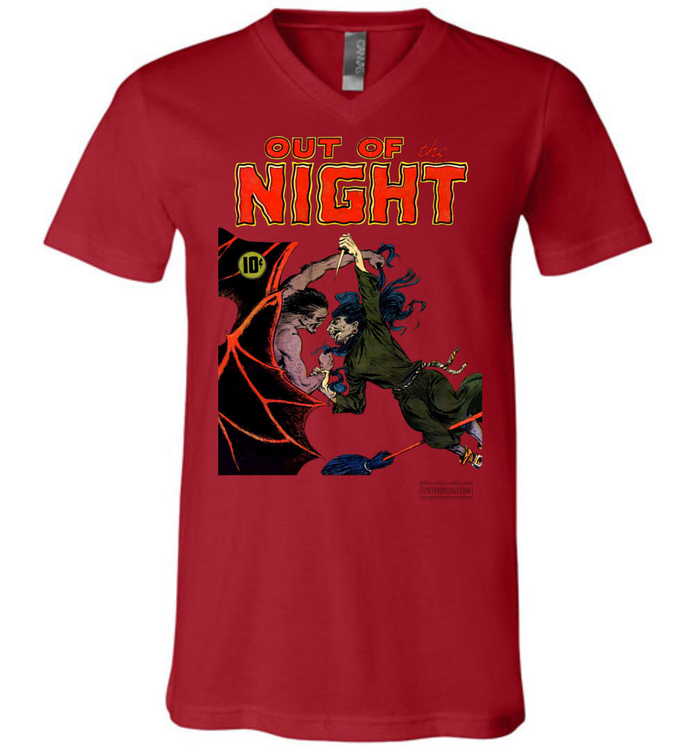 Out Of The Night No.4 V-Neck (Unisex, Light Colors)