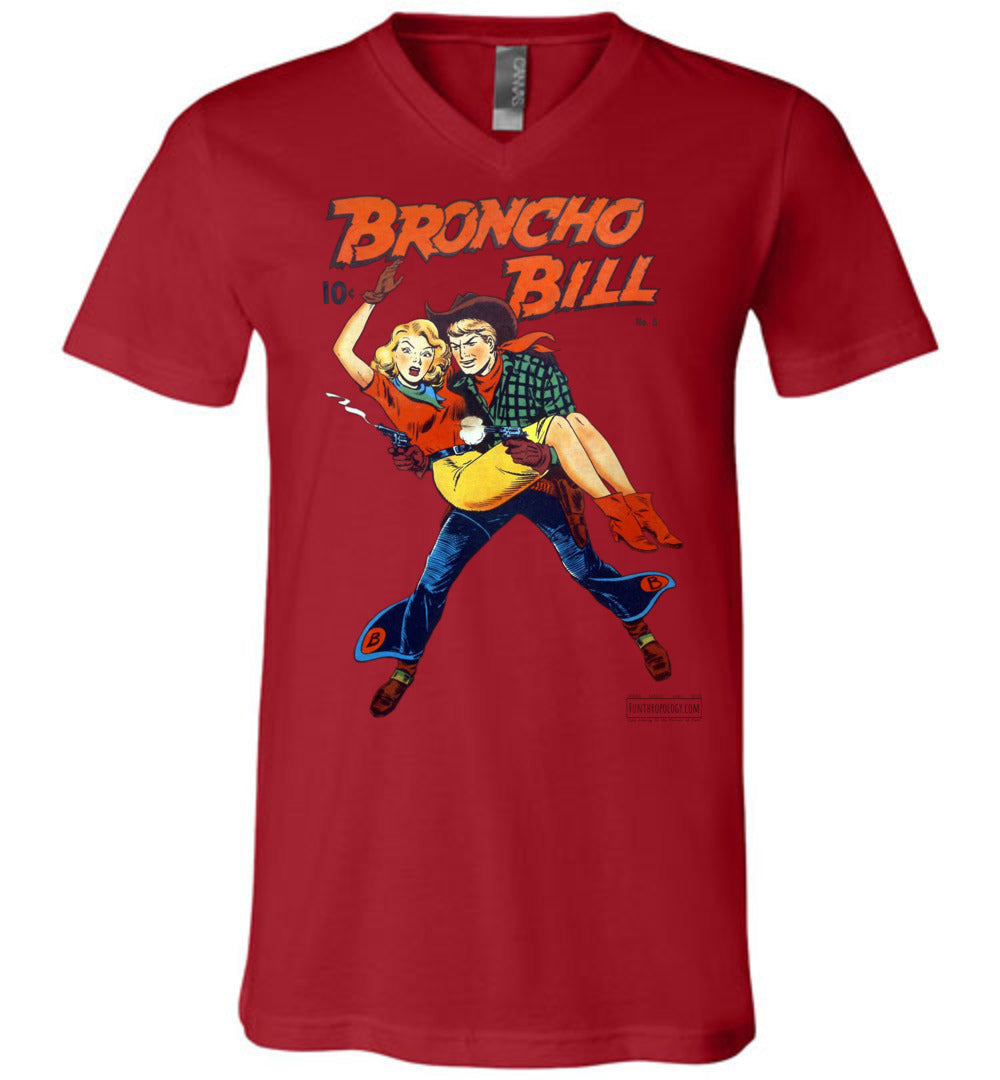 Broncho Bill No.8 V-Neck (Unisex, Light Colors)