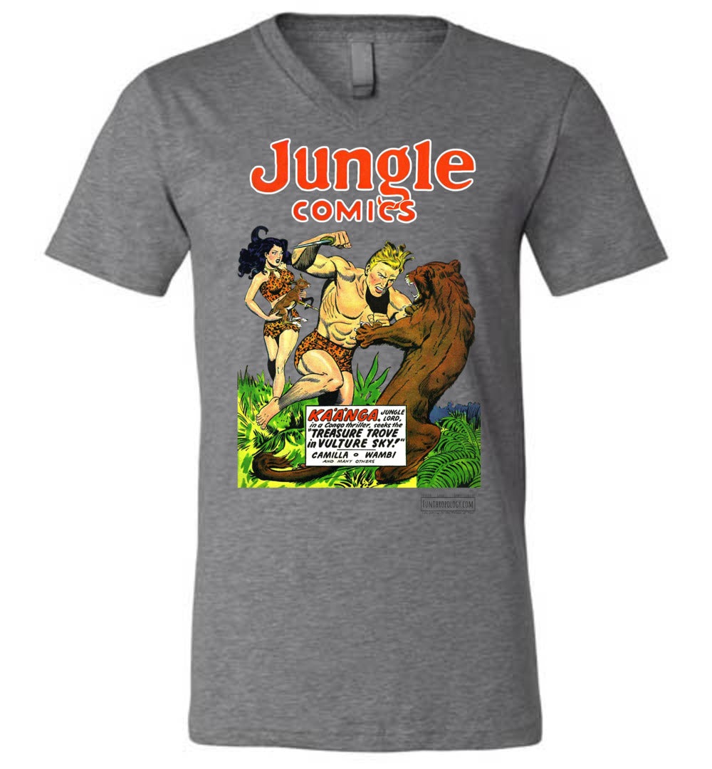 Jungle Comics No.115 V-Neck (Unisex, Light Colors)