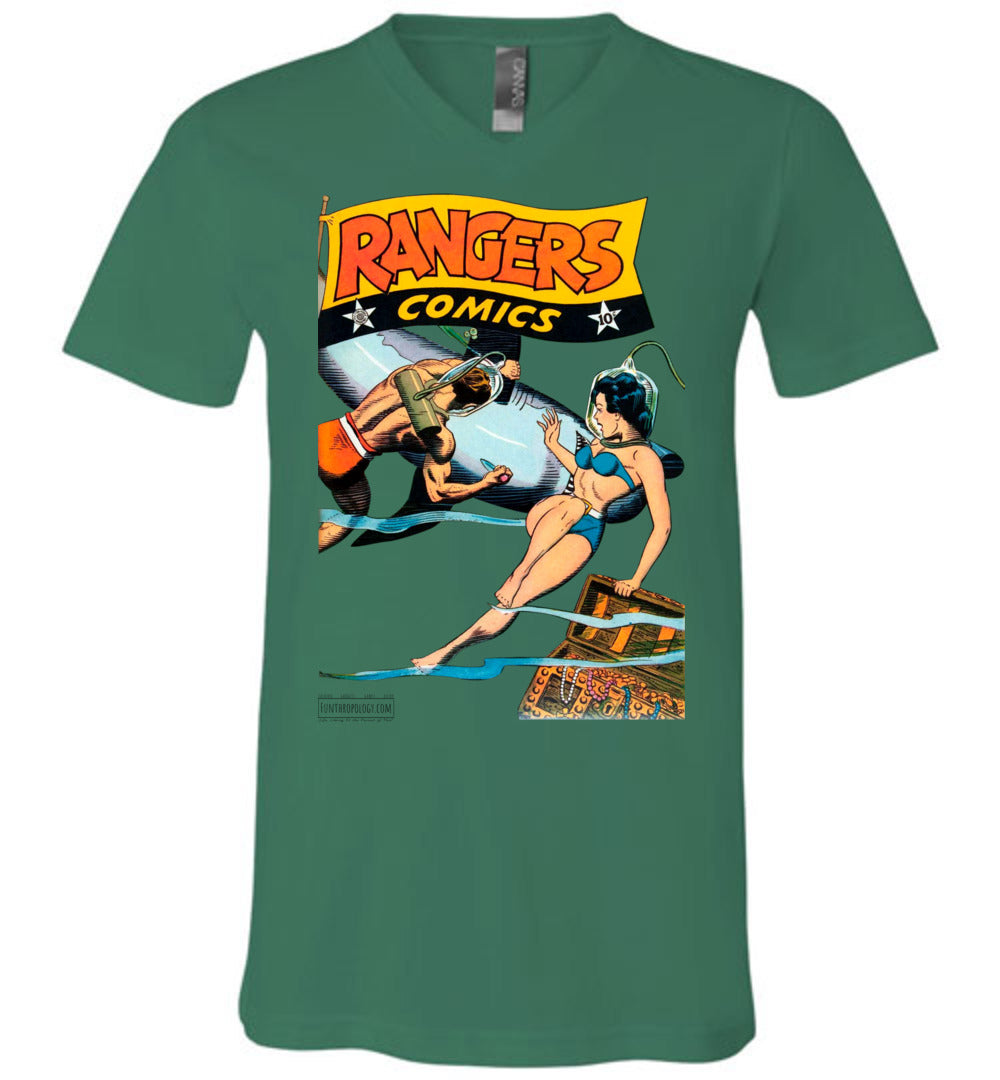 Rangers Comics No.33 V-Neck (Unisex, Light Colors)
