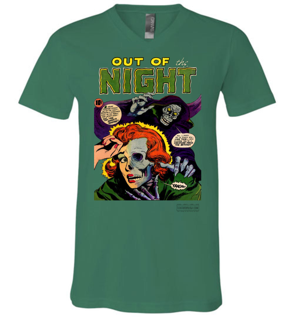 Out Of The Night No.6 V-Neck (Unisex, Light Colors)