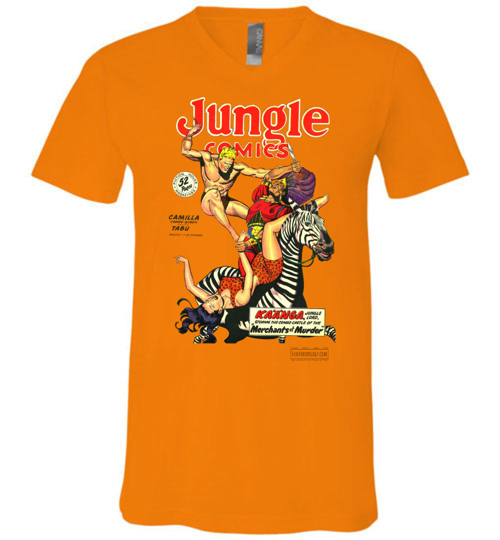 Jungle Comics No.108 V-Neck (Unisex, Light Colors)
