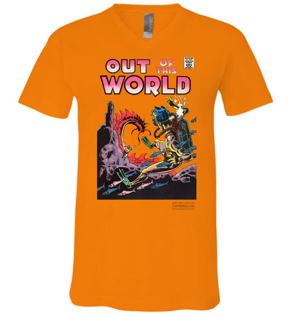 Out Of This World No.5 V-Neck (Unisex, Light Colors)