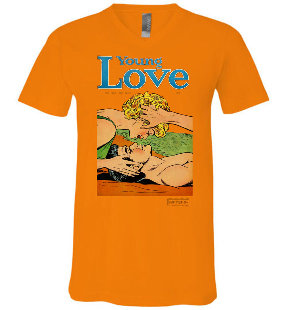 Young Love No.6.4 V-Neck (Unisex, Light Colors)