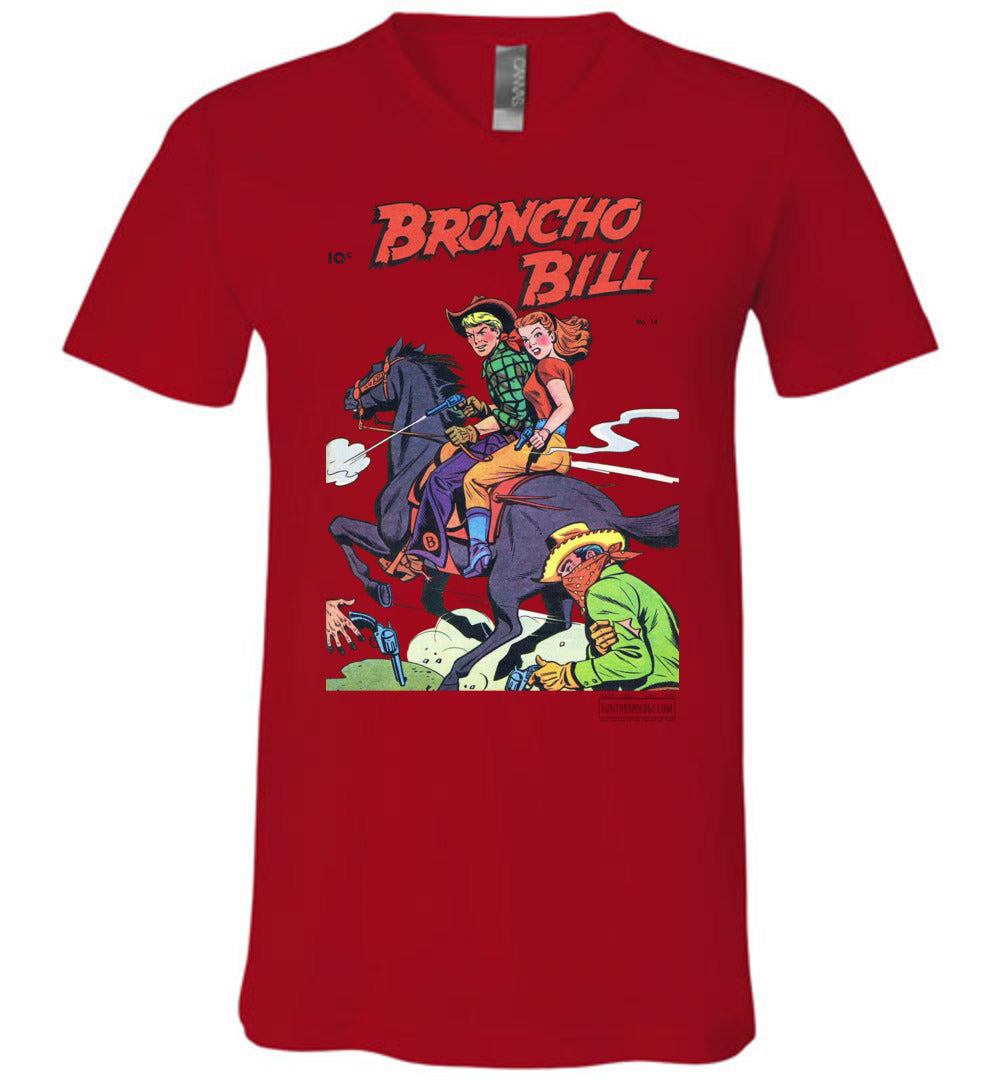 Broncho Bill No.14 V-Neck (Unisex, Light Colors)