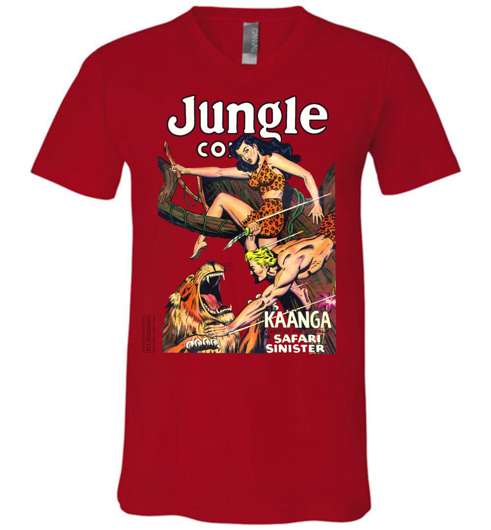 Jungle Comics No.126 V-Neck (Unisex, Light Colors)