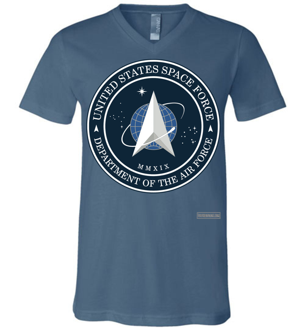 Space Force - Official Insignia V-Neck (Unisex)
