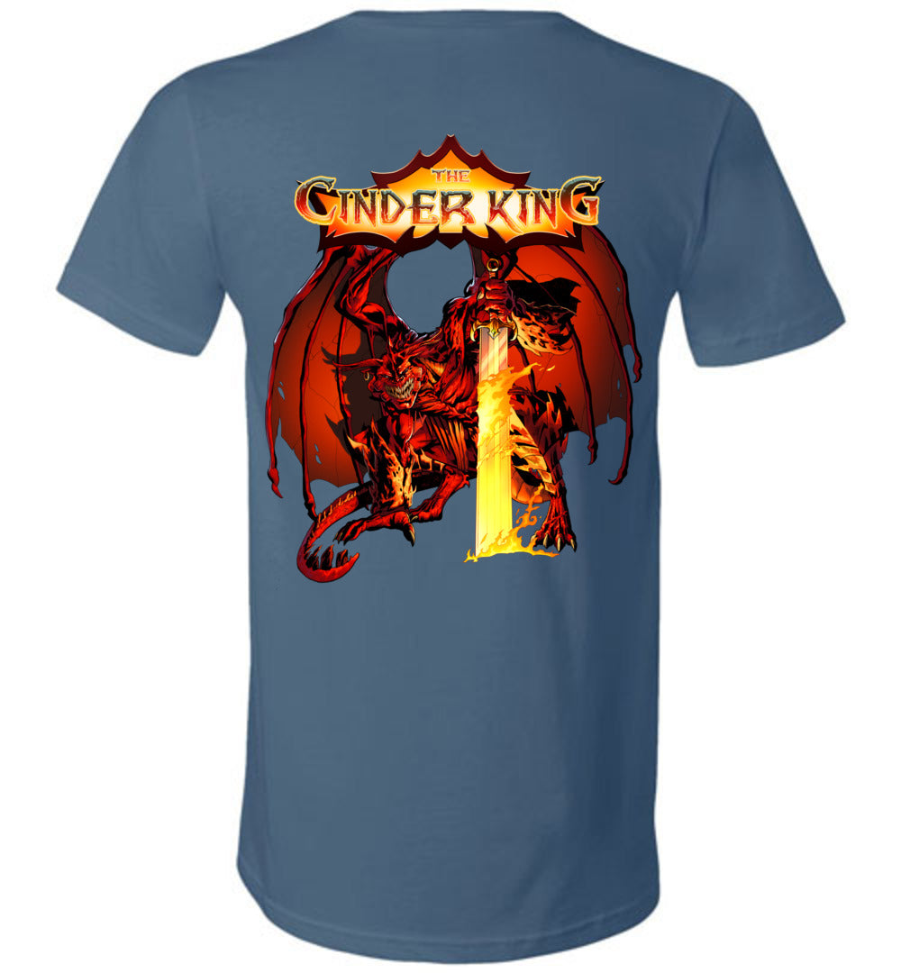 Capes & Chaos The Cinder King V-Neck (Unisex)