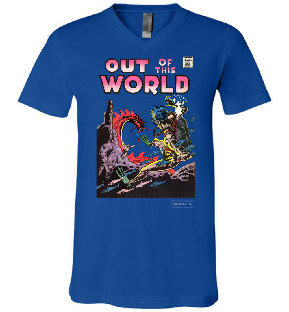 Out Of This World No.5 V-Neck (Unisex, Dark Colors)