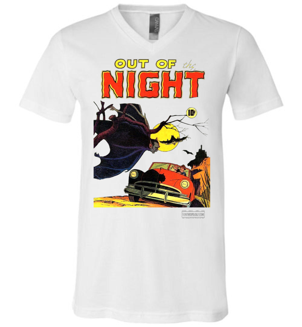 Out Of The Night No.1 V-Neck (Unisex, Light Colors)