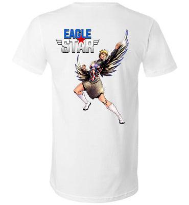 Capes & Chaos Eagle Star V-Neck (Unisex)