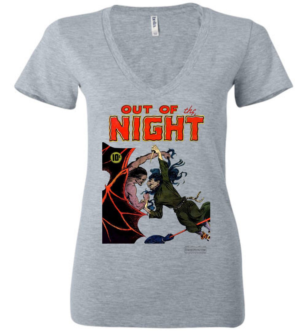 Out Of The Night No.4 V-Neck (Womens, Light Colors)