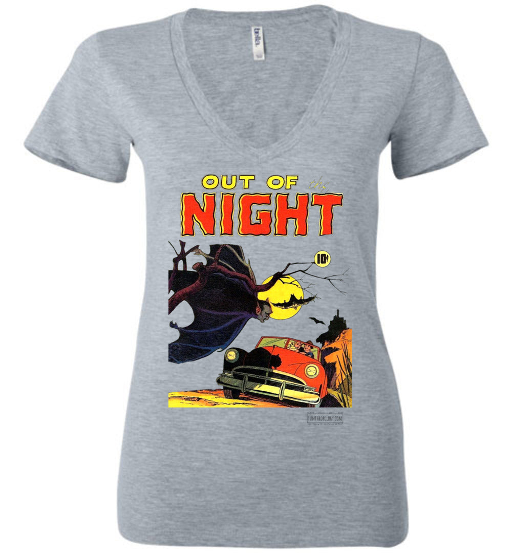 Out Of The Night No.1 V-Neck (Womens, Light Colors)