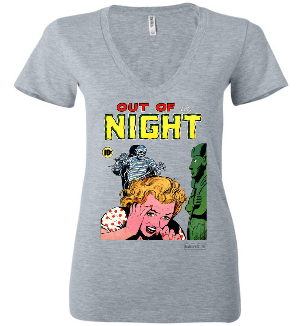 Out Of The Night No.2 V-Neck (Womens, Light Colors)