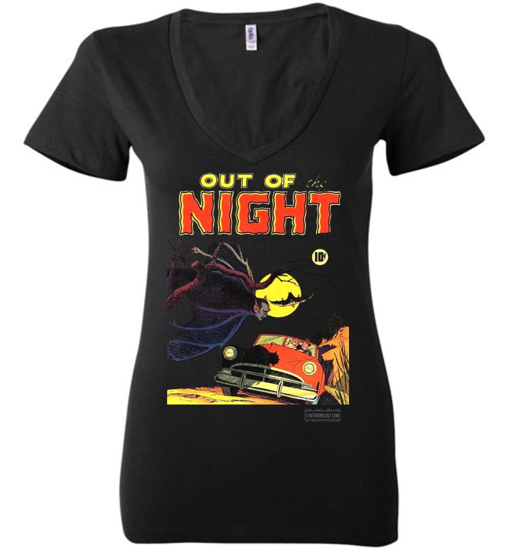 Out Of The Night No.1 V-Neck (Womens, Dark Colors)