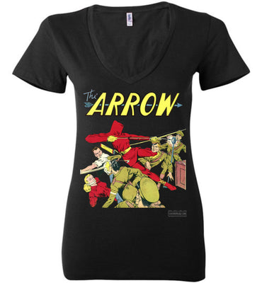 The Arrow No.3 V-Neck (Womens, Dark Colors)