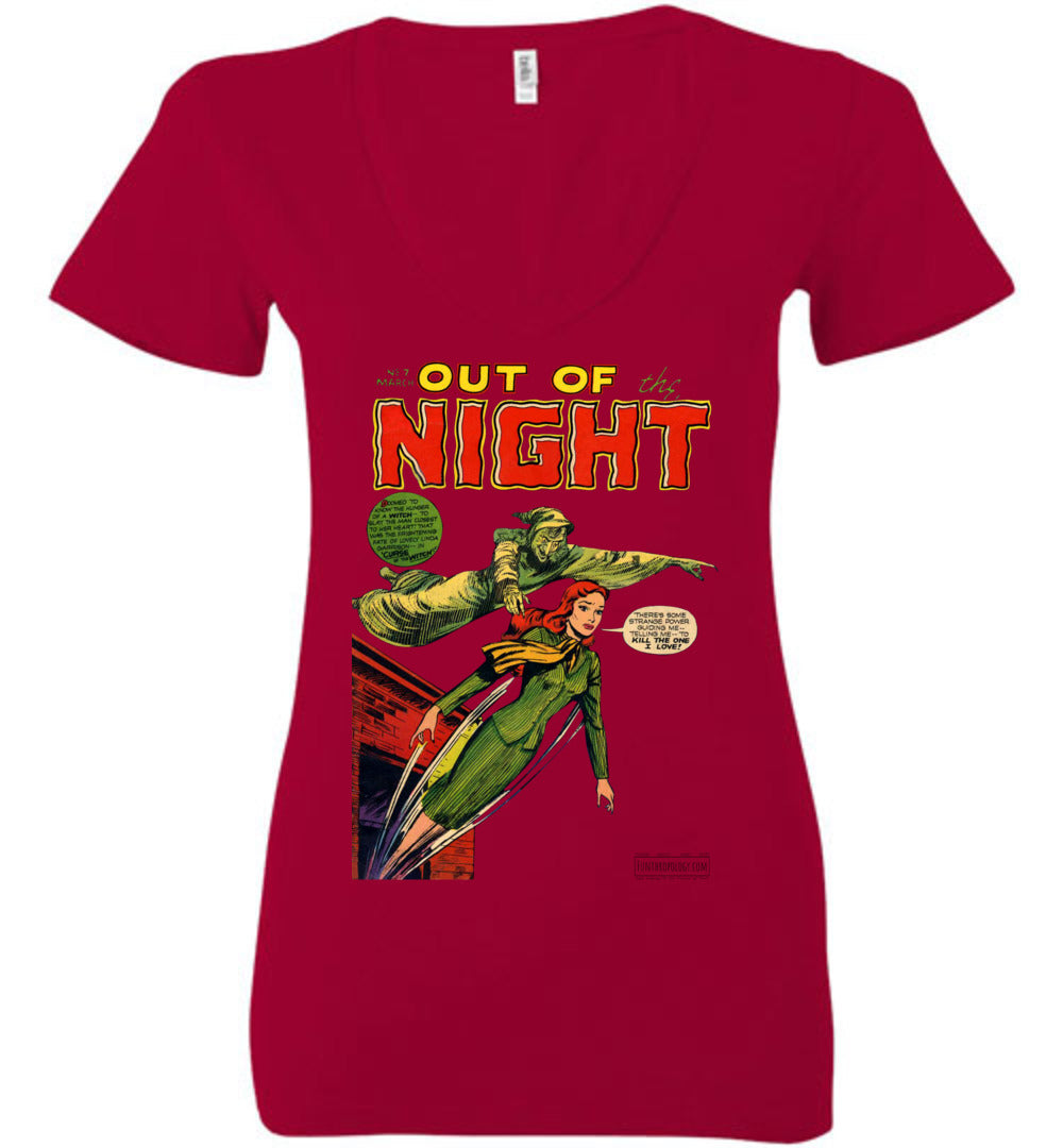 Out Of The Night No.7 V-Neck (Womens, Light Colors)
