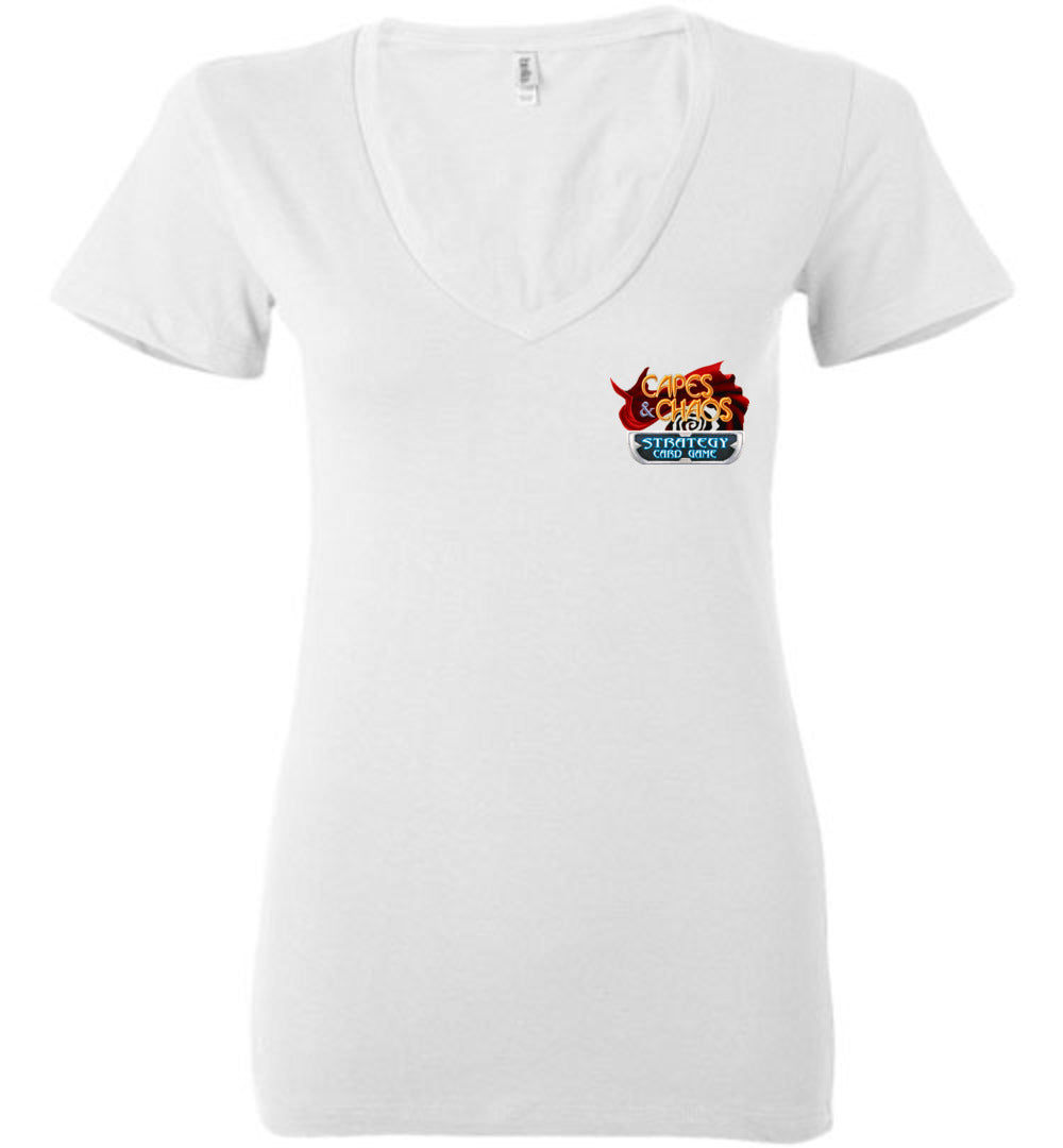 Capes & Chaos The Cinder King V-Neck (Womens)