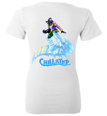Capes & Chaos Chillstep V-Neck (Womens)