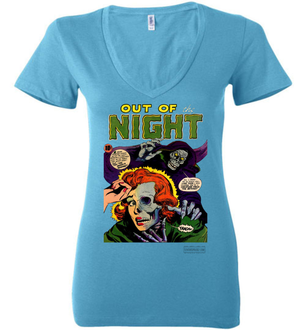 Out Of The Night No.6 V-Neck (Womens, Light Colors)