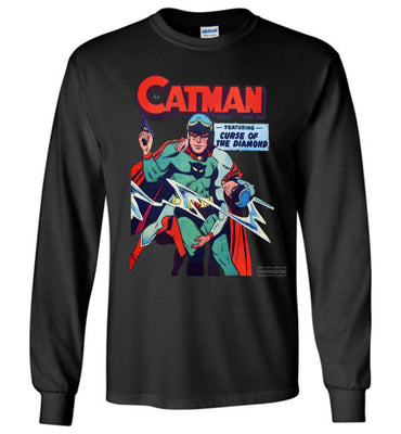 Catman No.16 Long Sleeve (Unisex, Dark Colors)