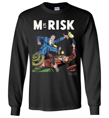 Mr. Risk No.2 Long Sleeve (Youth, Dark Colors)
