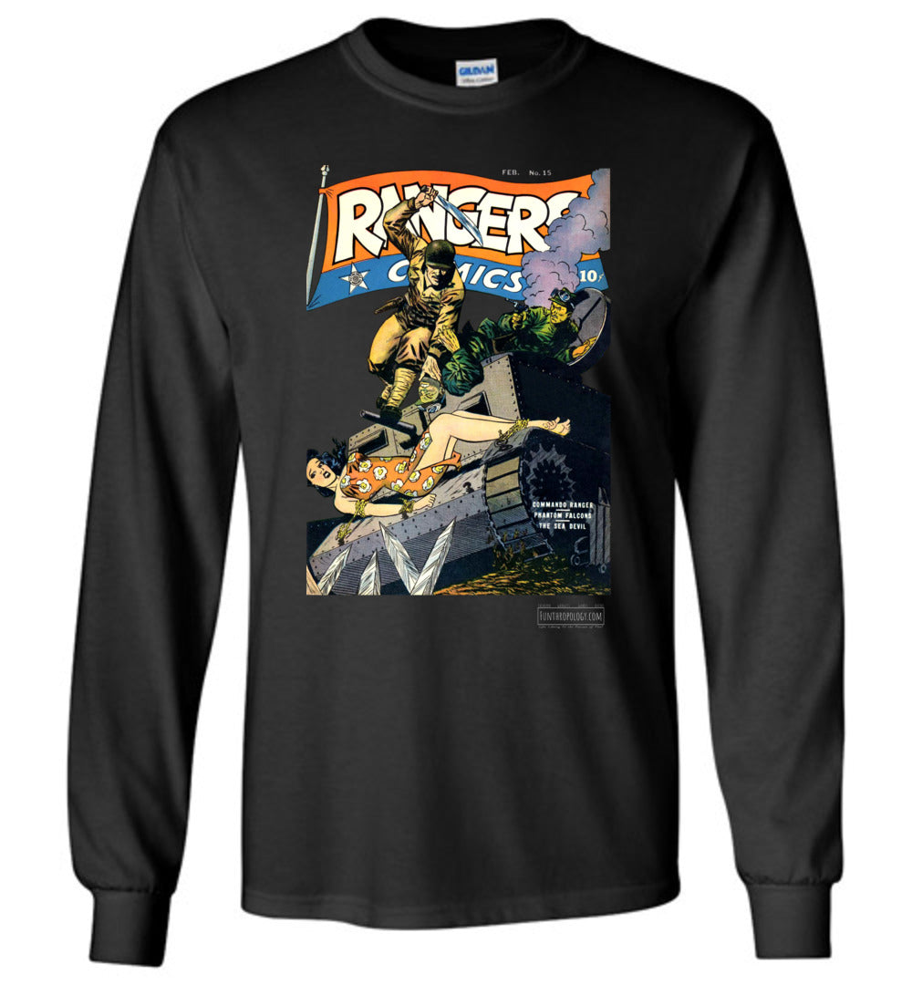 Rangers Comics No.15 Long Sleeve (Unisex, Dark Colors)