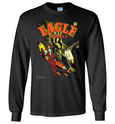 Eagle Comics No.1 Long Sleeve (Unisex Plus, Dark Colors)