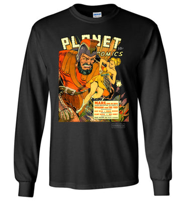 Planet Comics No.16 Long Sleeve (Youth, Dark Colors)