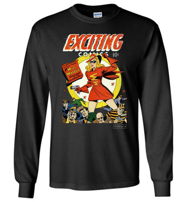 Exciting Comics No.53 Long Sleeve (Unisex, Dark Colors)