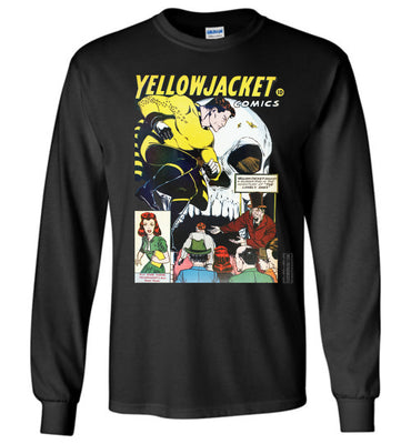 Yellowjacket No.7 Long Sleeve (Unisex Plus, Dark Colors)