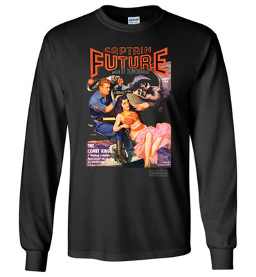Captain Future No.11 Long Sleeve (Unisex, Dark Colors)