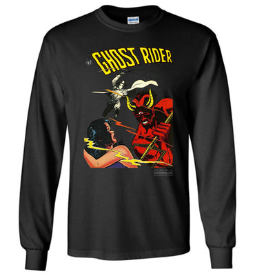 The Ghost Rider No.12 Long Sleeve (Unisex Plus, Dark Colors)