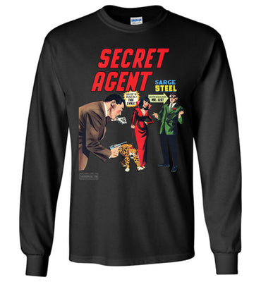 Secret Agent No.9 Long Sleeve (Youth, Dark Colors)