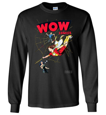 WOW Comics No.37 Long Sleeve (Youth, Dark Colors)