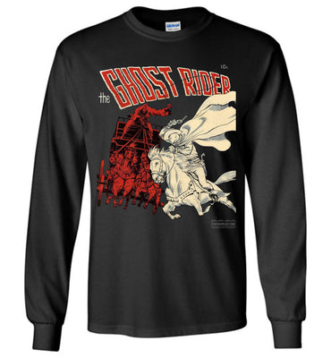 The Ghost Rider No.2 Long Sleeve (Unisex, Dark Colors)