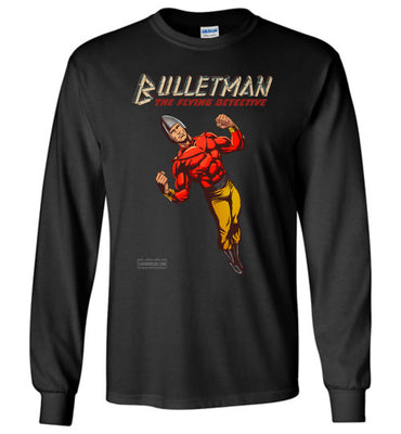 Bulletman Reimagined Long Sleeve (Unisex Plus, Dark Colors)