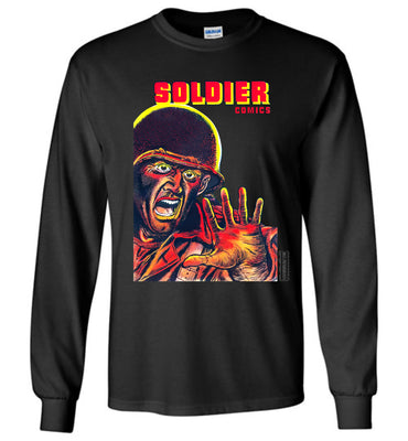 Soldier Comics No.8 Long Sleeve (Youth, Dark Colors)