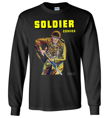 Soldier Comics No.5 Long Sleeve (Youth, Dark Colors)